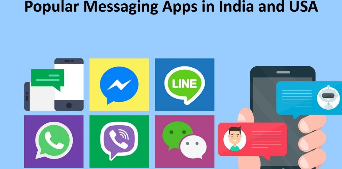 Top Mobile Messaging / Chatting Apps in India & USA