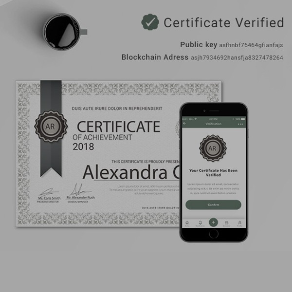 Blockchain-Certificate-Solution-Developed-by-DxMinds