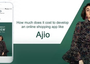 How much does it cost to develop an online shopping app like Ajio