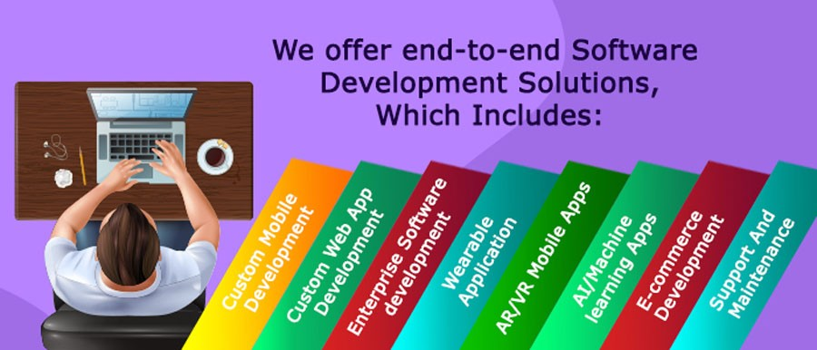 we Offer software development solutions