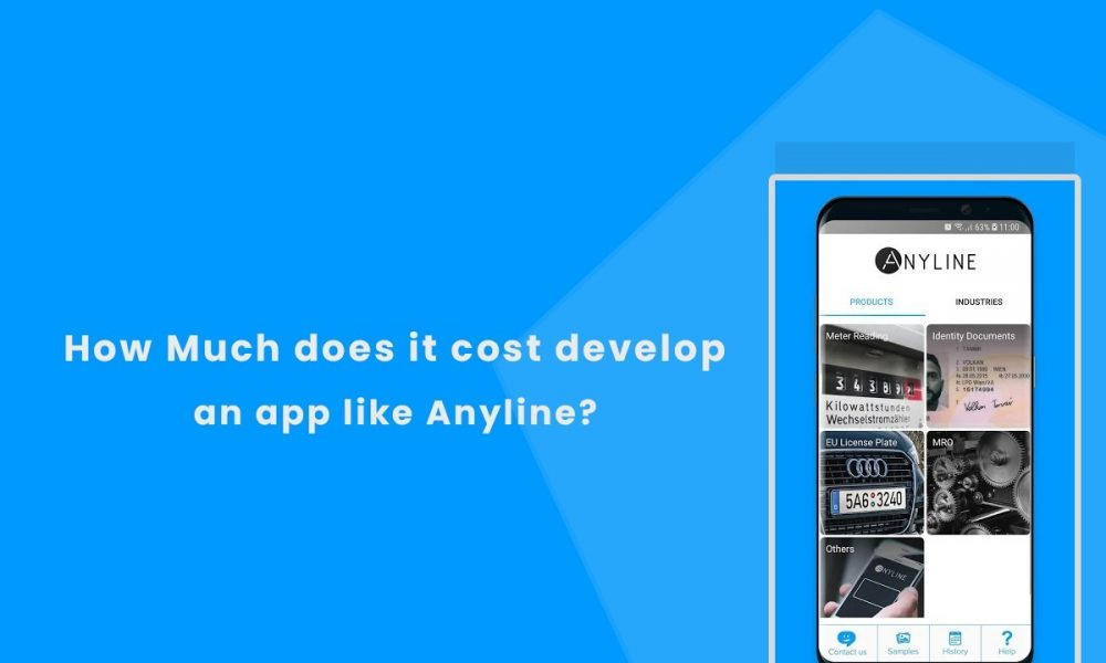 How Much does it Cost to develop a Text Recognition App Like Anyline
