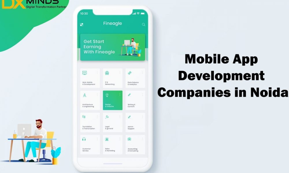 Top Mobile App Development Companies in Noida Uttar Pradesh