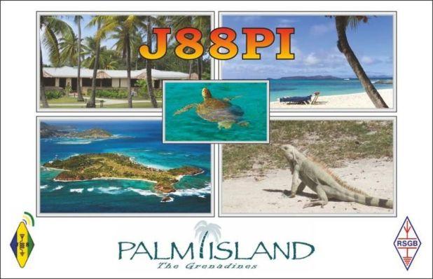 Palm Island J88PI QSL