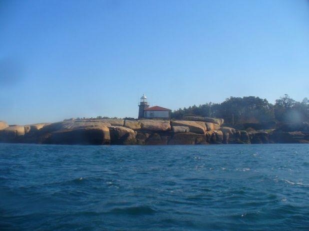 Arousa Island EG1PAA Faro de Punta Cabalo.