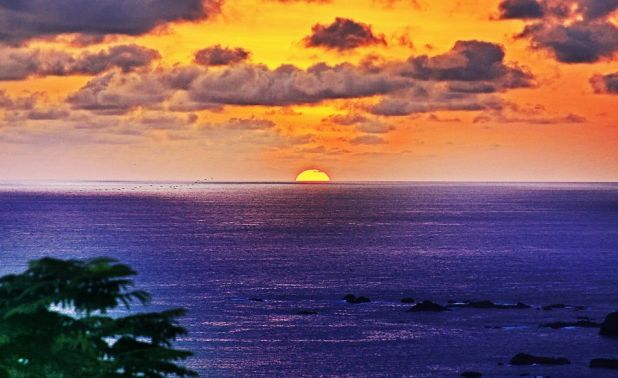Costa Rica TI5M Tourist attractions spot Sunset.
