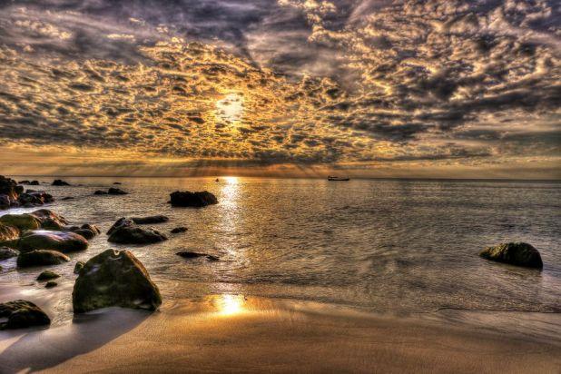 Koh Rong Sanloem Island XU7AKC Sunset