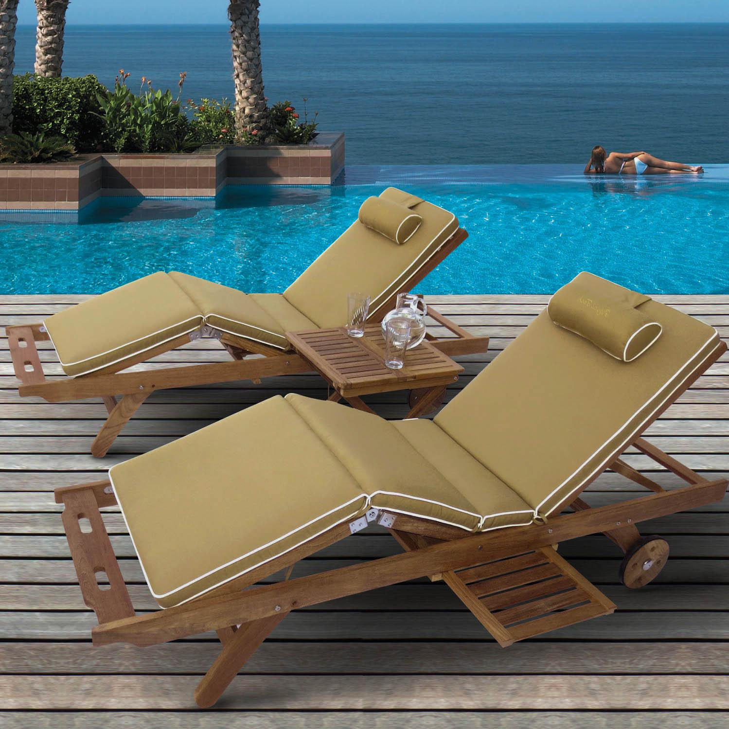Teak Chaise Lounge Chairs Royal Teak Collection Sun Bed Chaise Lounge 2 Person Teak Chaise Lounge Set