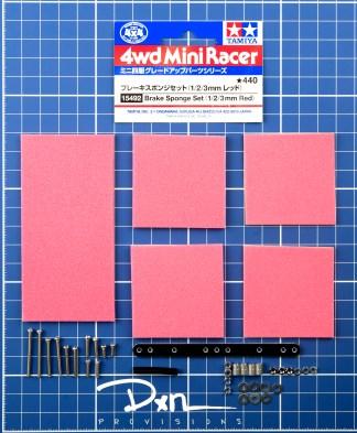 Brake Sponge Set (1/2/3mm Red)