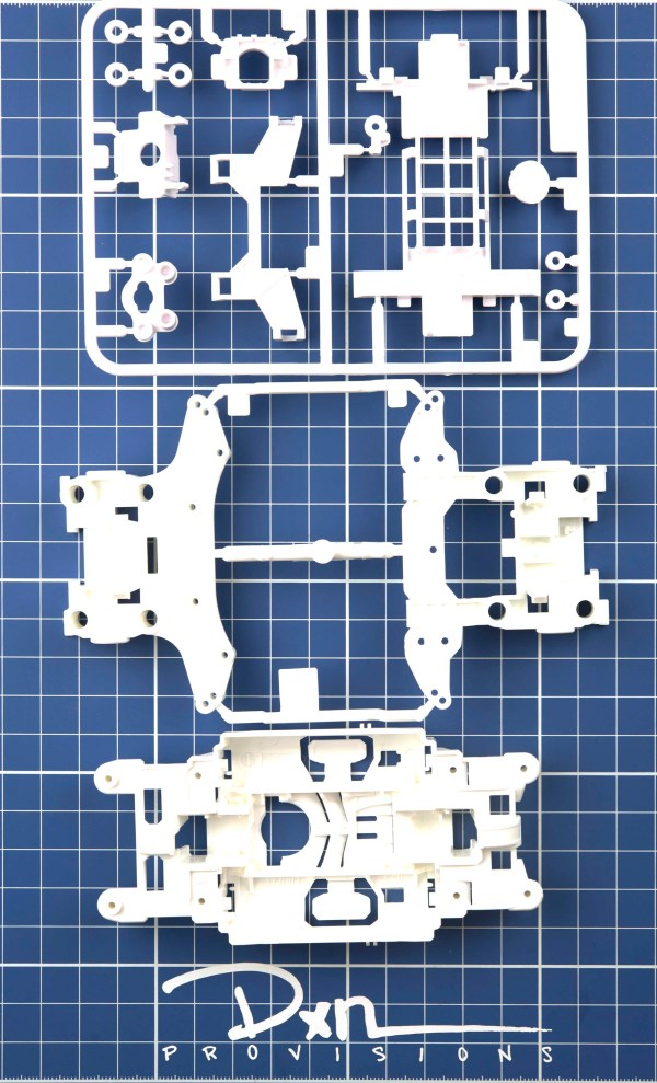 MS White Reinforced Chassis