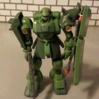 Green Geara Doga (AMS-119 ギラ・ドーガ レズン・シュナイダーカスタム) from anime Kidou Senshi Gundam: Char's Counterattack