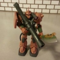 Gundam MSIA Garma Zabi Use Zaku II Custom MS-06FS from anime Kidou Senshi Gundam (機動戦士ガンダム) aka Mobile Suit Gundam, First Gundam, Gundam 0079