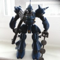 Gundam MSIA Kampfer MS-18E (ケンプファー, Kenpufā) Bandai Japan 2002 from anime Kidō Senshi Gundam 0080 - Pocket no Naka no Sensō(機動戦士ガンダム0080 ポケットの中の戦争) or 機動戰士鋼彈0080 口袋裡的戰爭