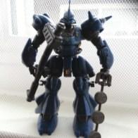 Gundam MSIA Kampfer MS-18E (ケンプファー, Kenpufā) Bandai Japan 2002 from anime Kidō Senshi Gundam 0080 - Pocket no Naka no Sensō(機動戦士ガンダム0080 ポケットの中の戦争) or 機動戰士鋼彈0080 口袋裡的戰爭