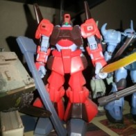 Gundam MSIA Rick Dias RMS-099 from anime Mobile Suit Z Gundam(Kidō Senshi Zeta Gundam 機動戦士Zガンダム) 1985-1986
