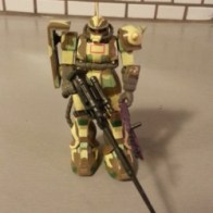 MSIA Zaku II MS-06J Camouflage ver. Mobile Suit in Action 2000 Bandai Japan From anime 1 Year War in 0079(機動戦士ガンダム Kidō Senshi Gandamu) 1979-1980
