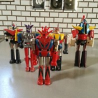 Shogun Warriors ST collection - 1970's Dragun, Poseidon, Raider, Raideen, Great Mazinga Raider from Dave's Collection