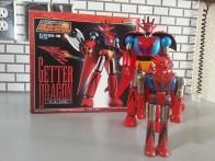 Getter Dragon(ゲッタードラゴン) GX-18 Bandai Soul of Chogokin 2003 Getter Robo G from anime Getta Robo G (Japanese), Jet Robot (Italian), Robo Formers, Starvengers, ゲッターロボG (Japanese), 게타로보 (Korean)