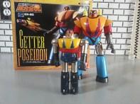 Getter Poseidon GX-20 Bandai Soul of Chogokin 2003 Getter Robo G from anime Getta Robo G (Japanese), Jet Robot (Italian), Robo Formers, Starvengers, ゲッターロボG (Japanese), 게타로보 (Korean)