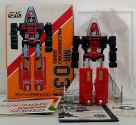 MachineRobo(マシンロボ) MR-03 Jet Robo(ブルー・ジェット) 1982 Popy Bandai Machine Men robot form from anime Machine Robo Revenge of Cronos 1988-1989 and Challenge of the Gobots 1983-1987 known as Fitor