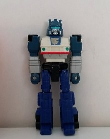 Jazz Action Masters 1990 Hasbro Transformers Autobot Generation 1 G1 front side of robot