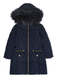 Girls Puffa Coat - Coat Racks