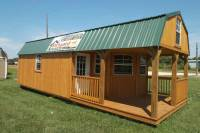2016 Backyard Portable Buildings Cabins Garages Storage ...