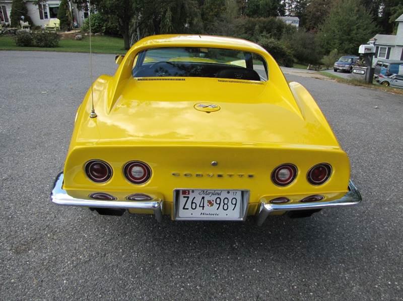 1972 Chevrolet Corvette Sold Sold Sold