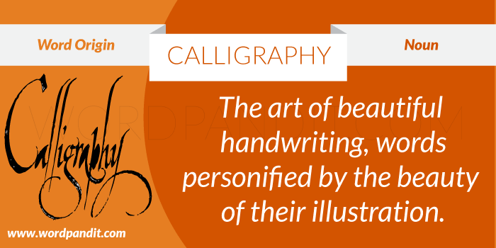Meaning of Calligraphy