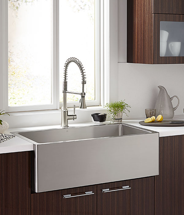 Kitchen Farm Sinks Orchard 36 Inch Wide Stainless Steel