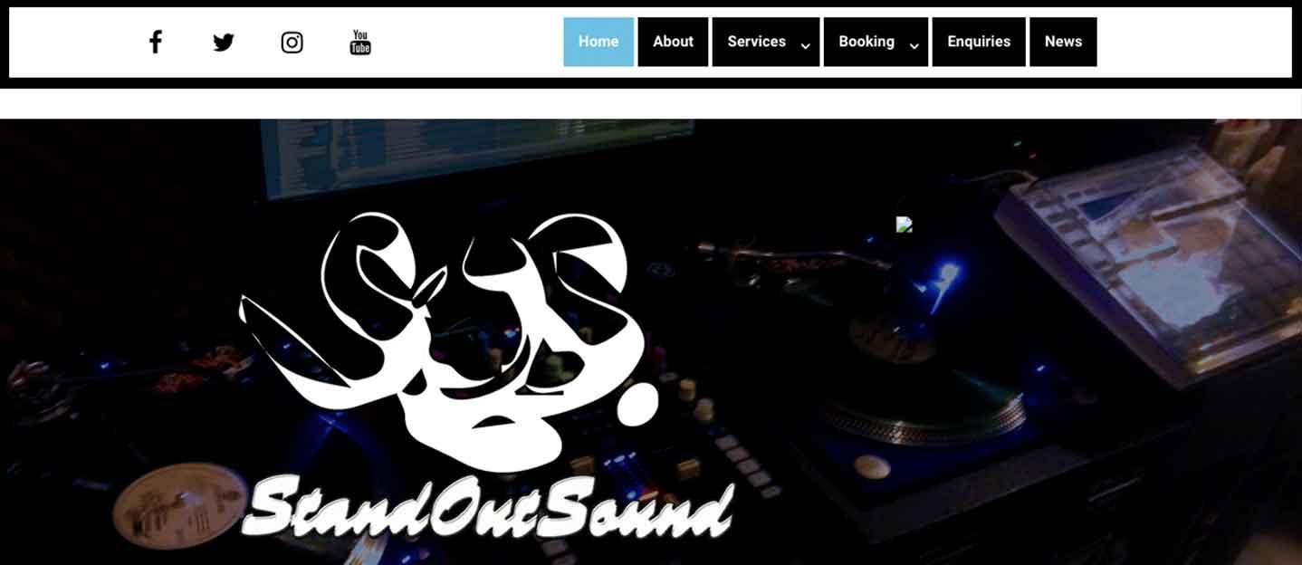 standoutsound-dot-com-website-screenshot