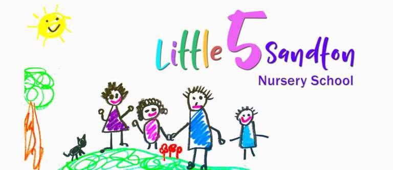 little-5-sandton-nursery-school-logo-by-double-xx-design