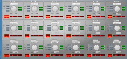 The updated Motor Dials, controlling 18 AX-12 motors.