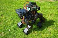Source: http://forums.trossenrobotics.com/showthread.php?4316-Mammalian-Inspired-Quad-IRON-WOLF