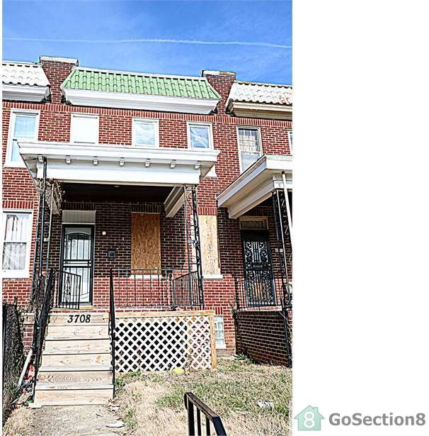 3708 Hayward Ave, Baltimore, MD 21215 3 Bedroom Apartment