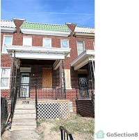 3708 Hayward Ave, Baltimore, MD 21215 3 Bedroom Apartment ...