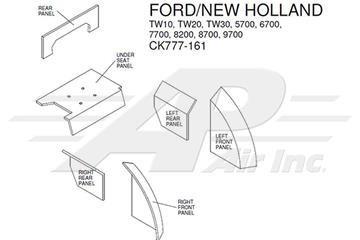 Ford 7700 Wiring Diagram / Ford 4100 4110 4600 4610 4630