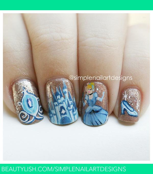 Cinderella Nails  simplenailartdesigns ss