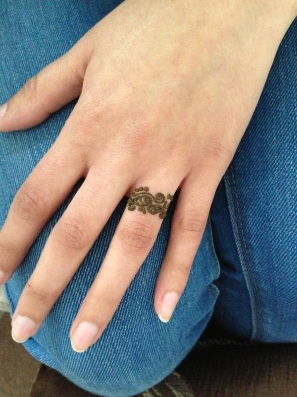 Ring Finger Henna Mandeep Ks Photo Beautylish