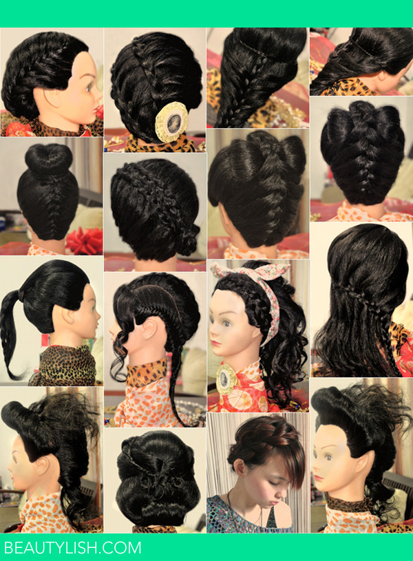 Some Hair Updos InspirationPart 1 Bridal Prom Party