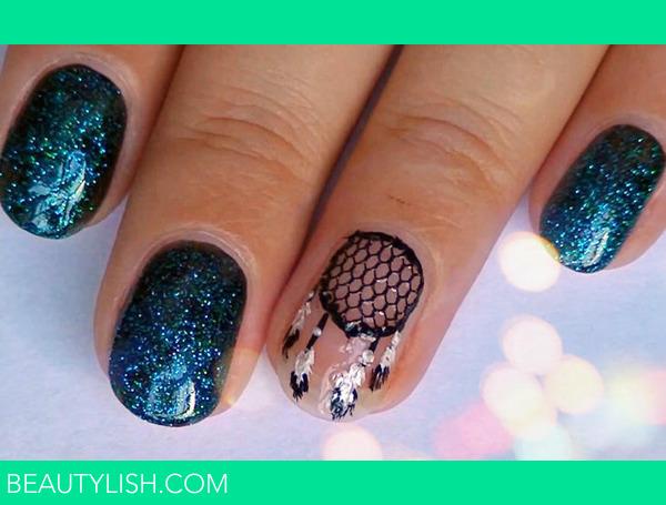 Dream Catcher Nail Design  Elena Ss ElenaSandina