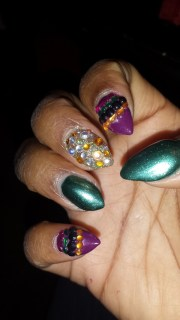 blinged nails ii alicia .'s
