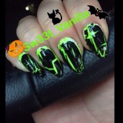 halloween nails october 2013