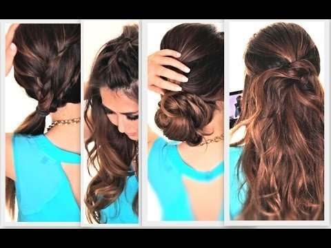 30 Cute Hairstyles For Lazy Summer Hairstyles Ideas Walk The Falls