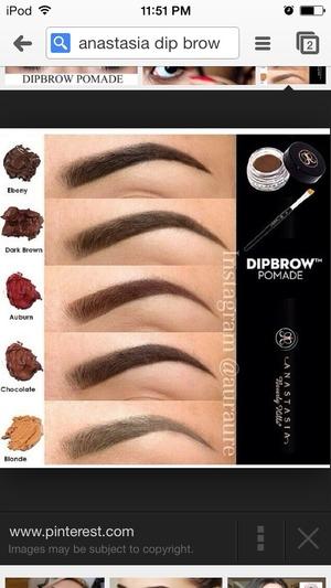 Anastasia Dipbrow Shade Beautylish