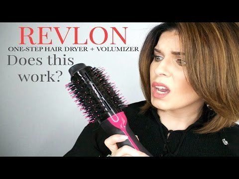 Does This Work Revlon Oval One Step Hair Dryer