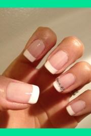 classic wedding nail romee