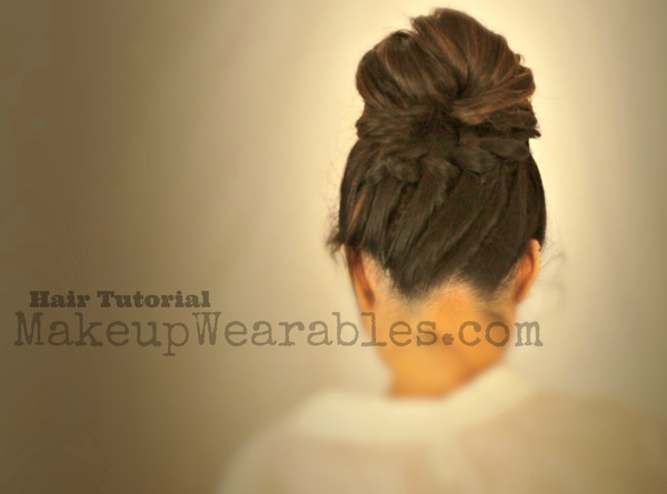Tutorial Cute Back To School Hairstyles Braided Messy