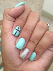 teal nails lydia .'s