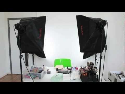 Lighting  Camera Setup for YouTube Makeup Tutorials