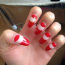 bordeaux matte nails nishani